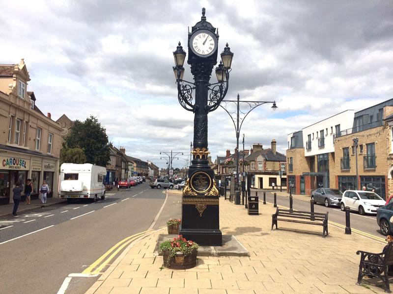Ramsey clock