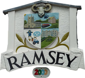 Ramsey Welcome sign