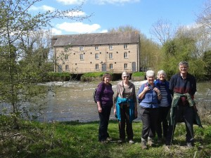 Warmington Mill on a lovely spring Day
